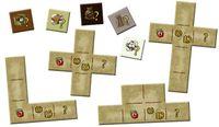 Board Game: Amerigo Queenie 3: Special Production Buildings and Tokens