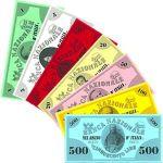 Board Game Accessory: 1865: Sardinia – Italian Style Money