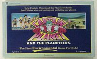 Board Game: Captain Planet and the Planeteers