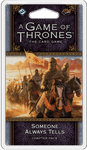 Board Game: A Game of Thrones: The Card Game (Second Edition) – Someone Always Tells