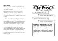 RPG Item: Dr. Fauna