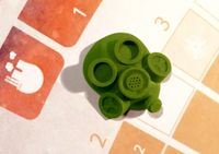 Board Game Accessory: CO₂: Second Chance – Gas mask first player marker