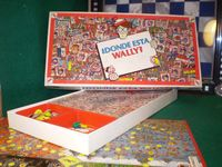 Board Game: Where's Wally? The Game
