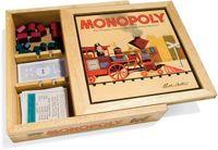 Board Game: Monopoly: Nostalgia Wooden Box