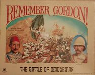 Board Game: Remember Gordon! The Battle of Omdurman