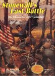 Board Game: Stonewall's Last Battle: The Chancellorsville Campaign
