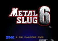 Video Game: Metal Slug 6