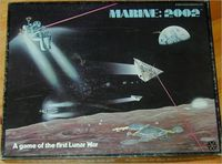 Board Game: Marine: 2002 – A Game of the First Lunar War