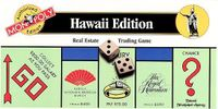 Board Game: Monopoly: Hawaii
