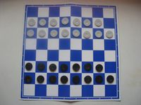 Board Game: Turkish Checkers