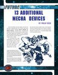 RPG Item: 13 Additional Mecha Devices