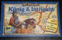 Board Game: El Grande: König & Intrigant