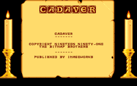 Video Game: Cadaver