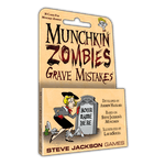 Board Game: Munchkin Zombies: Grave Mistakes