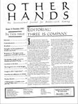Issue: Other Hands (Issue 3 - Oct 1993)