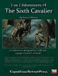 RPG Item: 1 on 1 Adventures #04: The Sixth Cavalier