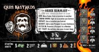 Board Game: Sons of Anarchy: Men of Mayhem – Grim Bastards