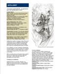 RPG Item: The Artillerist