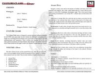 RPG Item: Culture Clash Volume 1: Elves