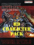 RPG Item: Champions Universe: News of the World (HD Character Pack)