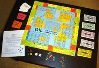 Board Game: Oil: The Slickest Game In Town