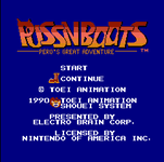 Video Game: Puss 'n Boots: Pero's Great Adventure