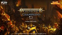 Video Game: Warhammer Age of Sigmar: Champions