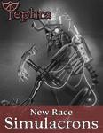 RPG Item: New Race: Simulacrons