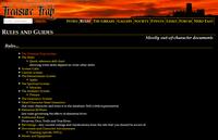 RPG Item: Durham University Treasure Trap Rules and Guides