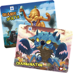Board Game Accessory: King of Tokyo/King of New York: Crabomination & Orange Death (promo characters)
