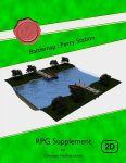 RPG Item: Battlemap: Ferry Station