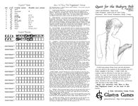 Board Game: Quest for the Auburn Pelt: A PageQuest Game