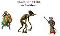 Board Game: Clash of Steel: The Card Game (Fantasy Edition)