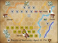 Board Game: The Battle of Mollwitz: April 10, 1741