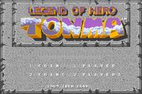 Video Game: Legend Of Hero Tonma