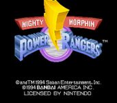 Video Game: Mighty Morphin Power Rangers