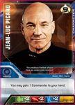Board Game: Star Trek Deck Building Game: Alternate Effect Captain Picard Promo