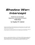 RPG Item: VS03-PL02: Shadow War: Intercept