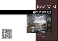 Issue: Houserule (Issue 1 - Jun 2015)