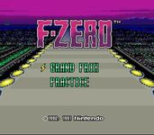 Video Game: F-Zero