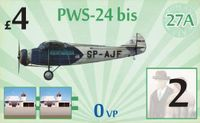 Board Game: Aeroplanes: PWS-24