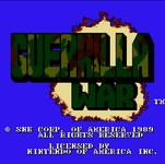 Video Game: Guerrilla War