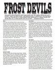 RPG Item: Frost Devils