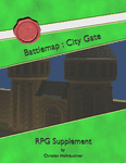 RPG Item: Battlemap: City Gate