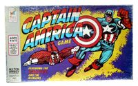Board Game: Captain America Game (Featuring the Falcon and the Avengers)