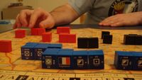 Board Game: Napoleon: The Waterloo Campaign, 1815