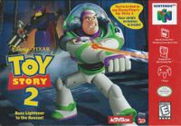 Video Game: Toy Story 2: Buzz Lightyear to the Rescue