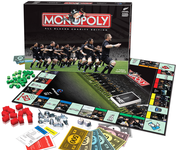 Board Game: Monopoly: All Blacks Charity Edition