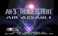 Video Game: AH-3 Thunderstrike