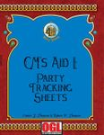 RPG Item: GM's Aid I: Party Tracking Sheets